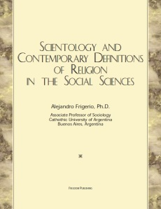 Scientology and Contemporary Definitions of Religion in the Social Sciences